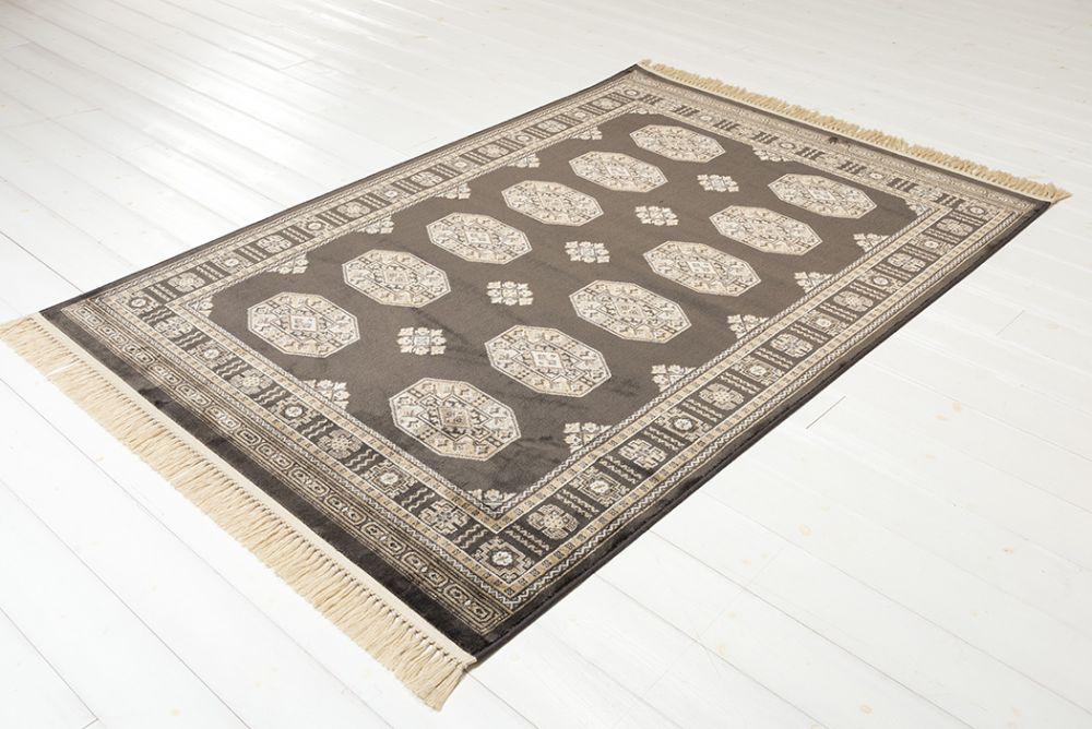 Art-Silk Afghan Gray 135x195