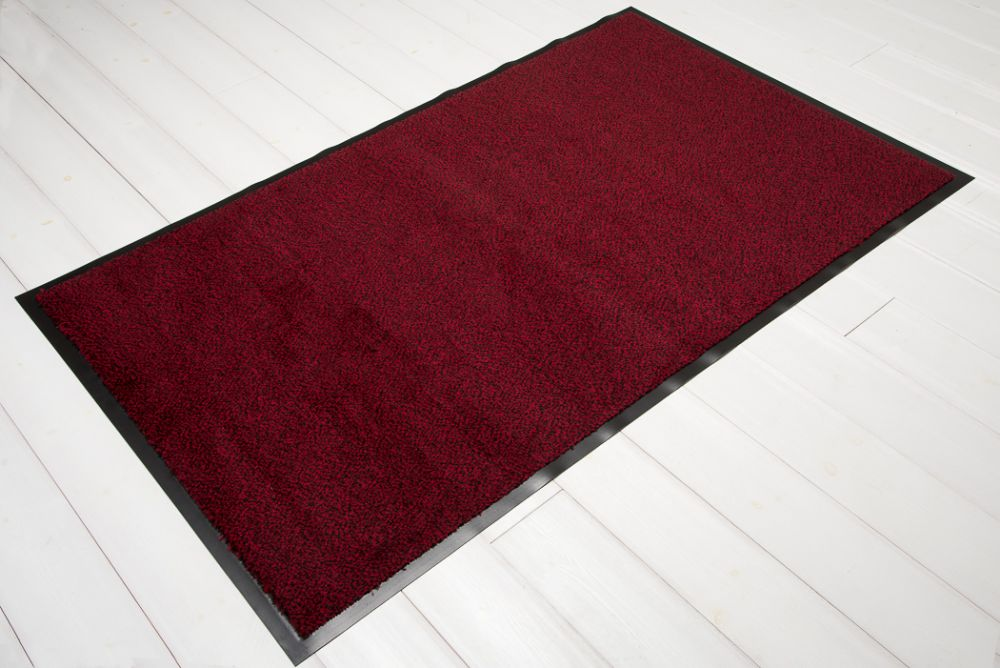 Clean rød/sort 90x150