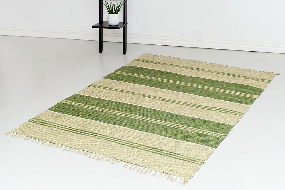 Herrgård grøn 160x230