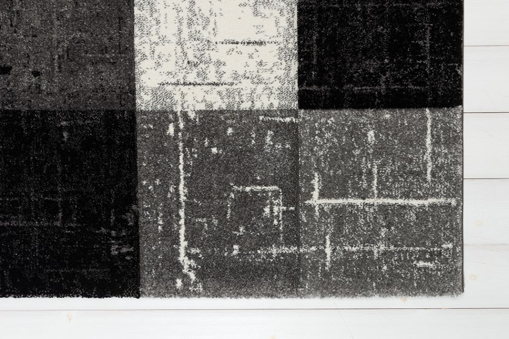 London Square Black 160x230