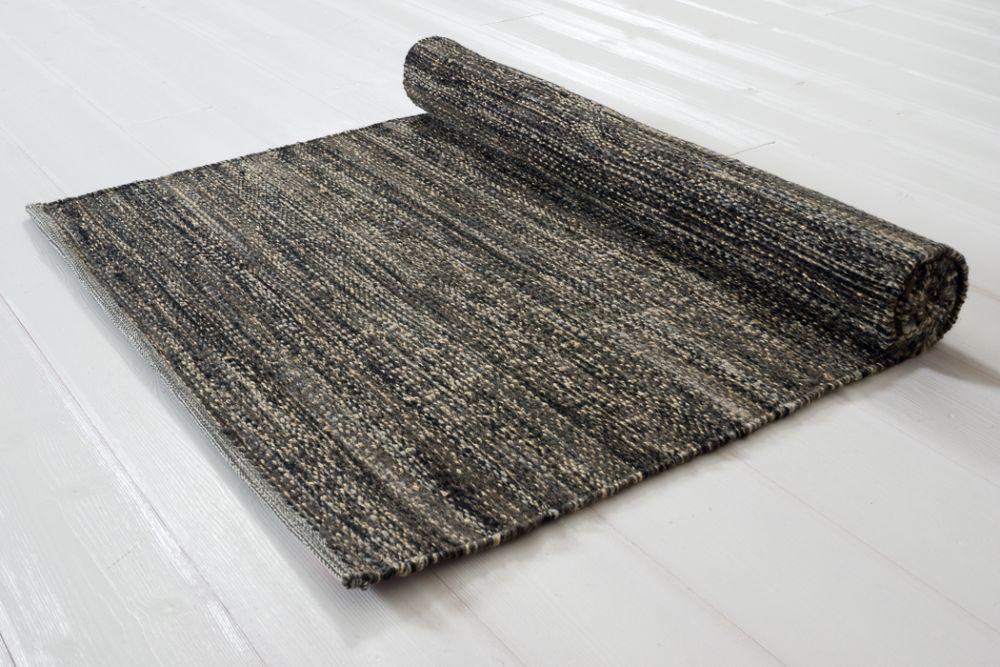 Sindra svart 80x300