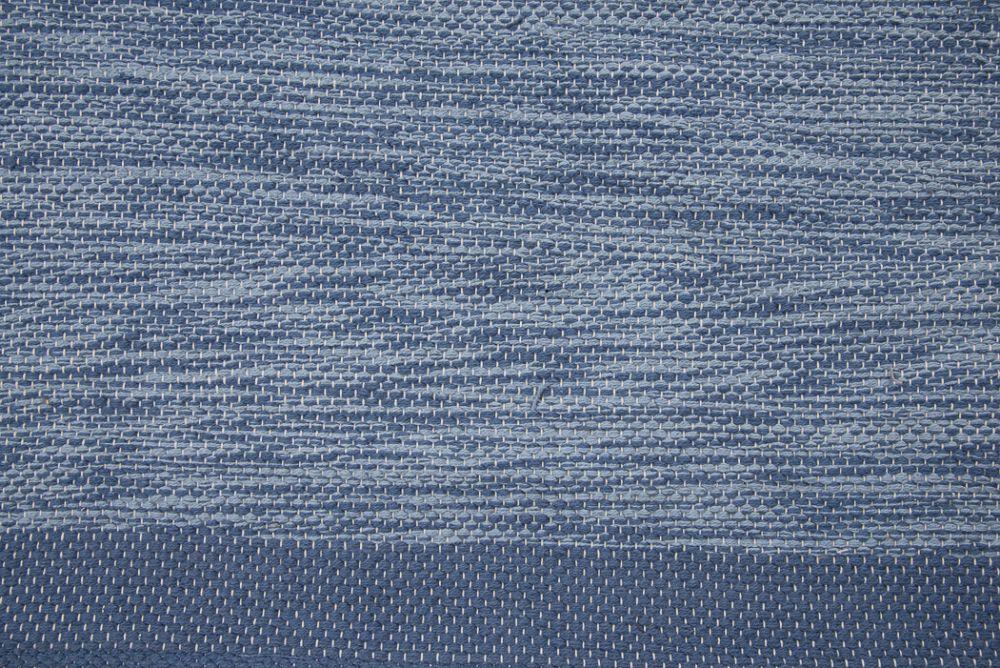 Heby blå 135x190