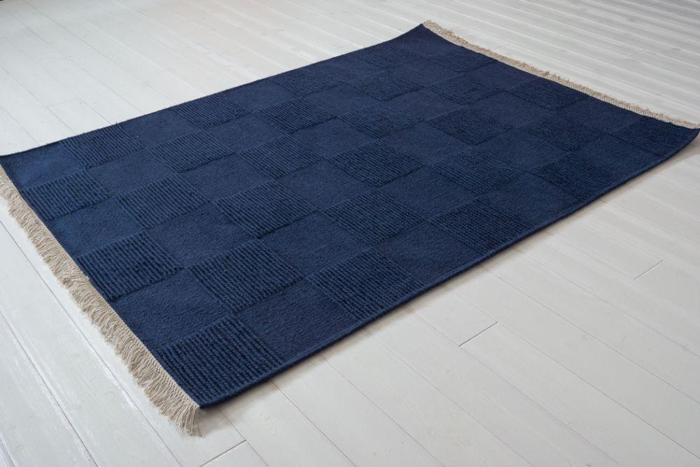 Moa blå 140x200