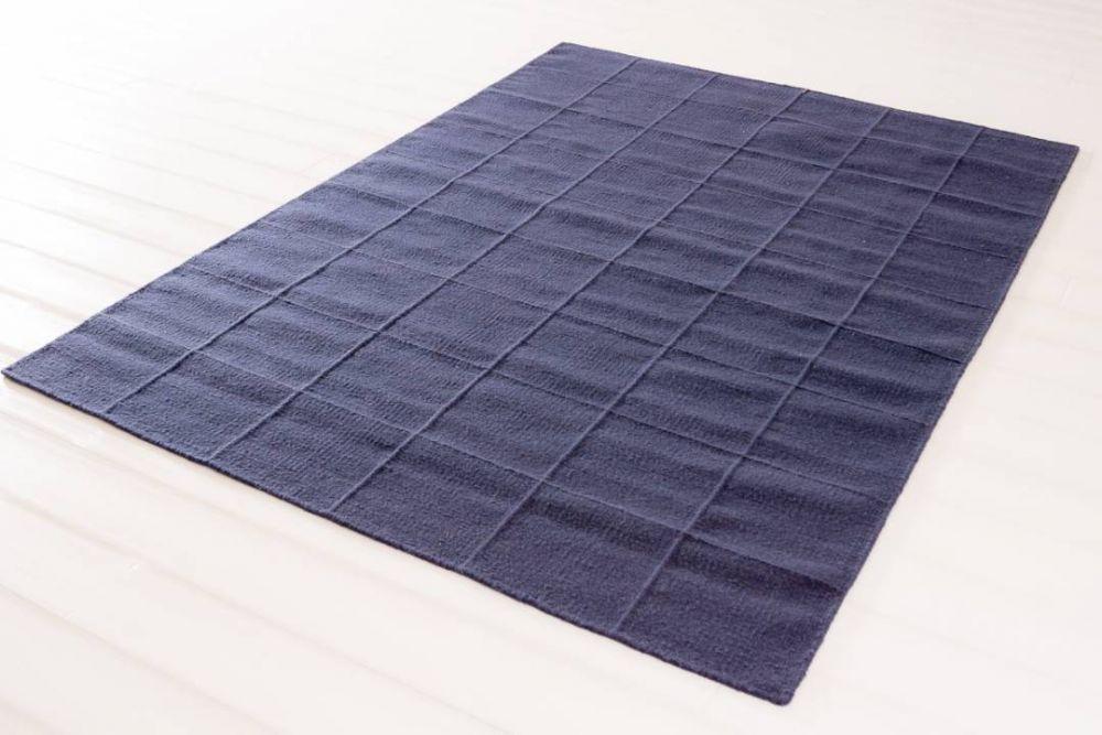 Luxor blå 200x300
